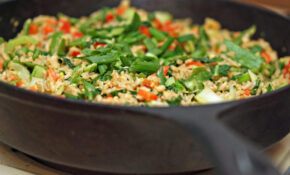 011/365:  Vegetable Fried (Brown) Rice – Dinner Recipes Low Sodium
