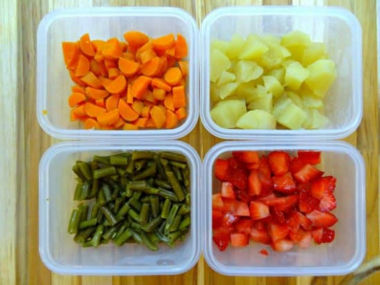 1 Month of Easy & Healthy Baby Finger Food Recipes- Meal ..