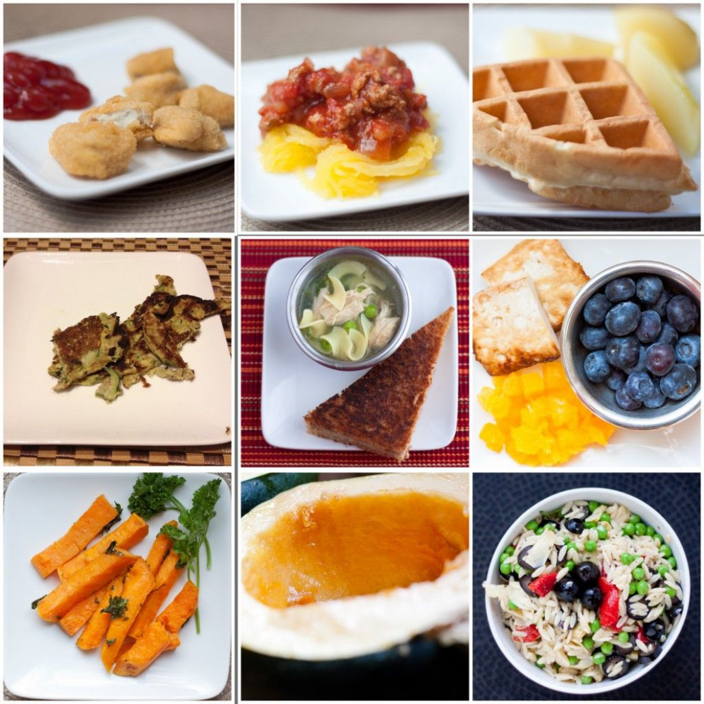 1 year old – sample weekly meal plan- this is unreal to me ..