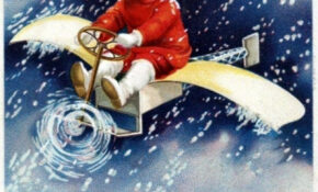 10 Antique Christmas Postcards From 100 Years Ago (1913 ..