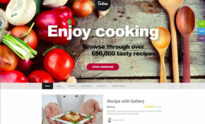 10 Best Food Recipes WordPress Themes 10 - RadiusTheme