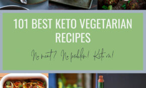 10 Best Keto Vegetarian Recipes – Low Carb | I Breathe I'm ..