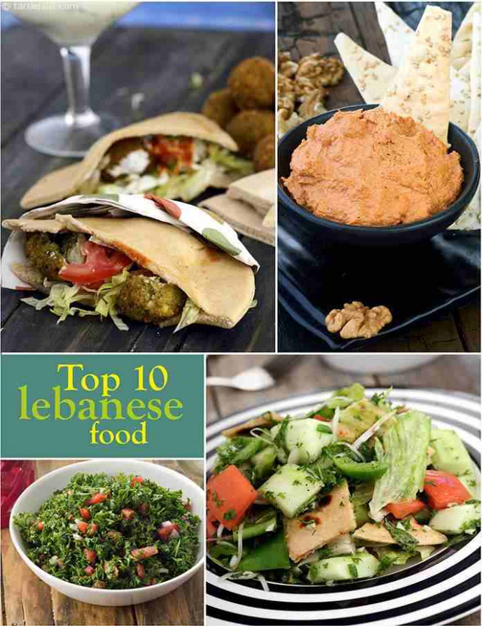 10 Best Veg Lebanese Recipes | TarlaDalal