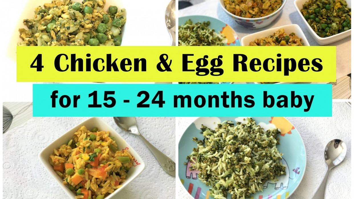10 Chicken & Egg Recipes ( for 10 - 210 months baby ) | Indian toddler  recipes | - baby food recipes 12-18 months