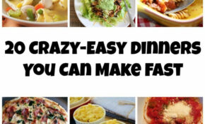 10 Crazy Easy Dinners You Can Make Fast – Carrots 'N' Cake – Ibs Recipes Dinner