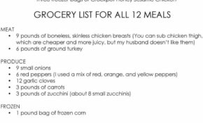 10 CROCKPOT FREEZER MEALS FROM COSTCO GROCERY LIST & RECIPES ..