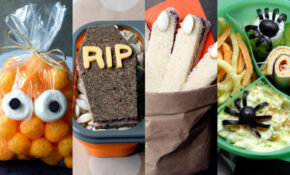10 Cute And Creepy Lunchbox Ideas For Halloween : Food ..