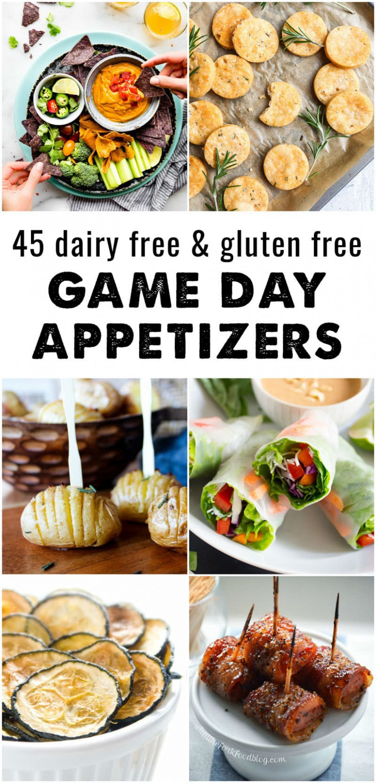 10 Dairy Free And Gluten Free Appetizers • The Fit Cookie - Dinner Recipes Gluten And Dairy Free