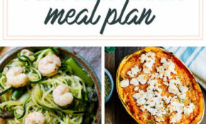 10 Day Healthy Meal Plan & Shopping List | Eating Bird Food – Healthy Food Recipes Dinner