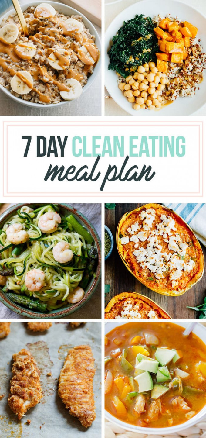 10 Day Healthy Meal Plan & Shopping List | Eating Bird Food - healthy food recipes dinner