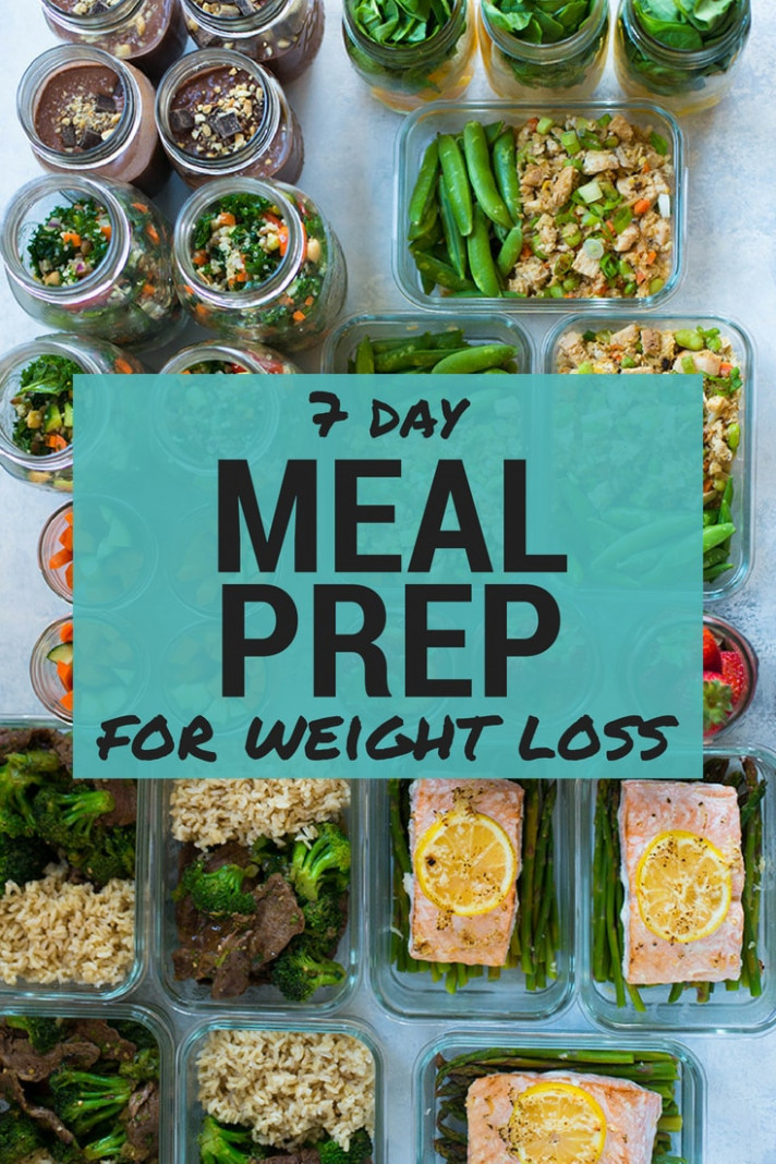 10 Day Meal Plan For Weight Loss - healthy recipes for a week