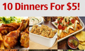 10 Dinners For $5 – Cheap Dinner Recipes And Ideas ..