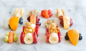 10 EASY ADORABLE AND HEALTHY FOOD ART SNACKS FOR KIDS – Food Recipes For Kids