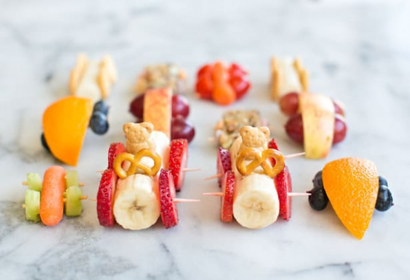 10 EASY ADORABLE AND HEALTHY FOOD ART SNACKS FOR KIDS - food recipes for kids