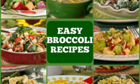 10 Easy Broccoli Recipes | EverydayDiabeticRecipes