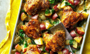10 Easy Chicken Sheet Pan Dinners | Taste Of Home – Chicken Recipes Vegetables