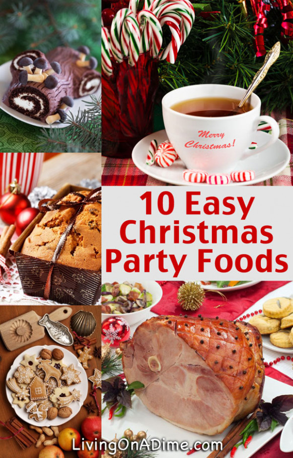 10 Easy Christmas Party Food Ideas And Easy Recipes - recipes for xmas dinner parties