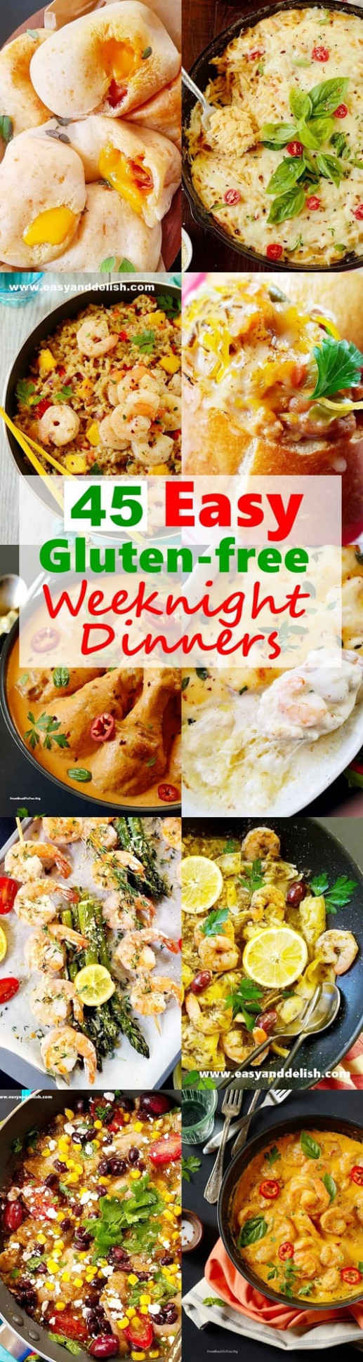 10 Easy Gluten-Free Weeknight Dinners for the Family - Easy ..