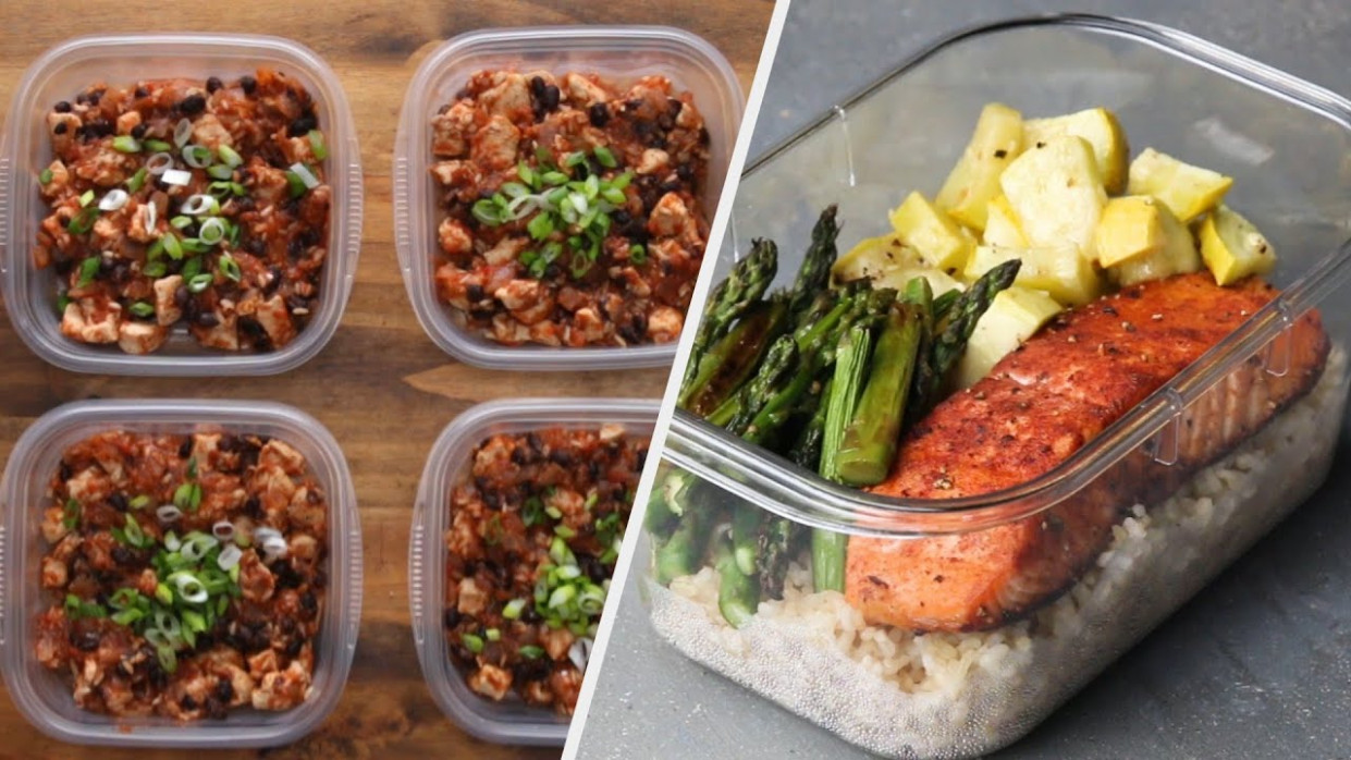 10 Easy & Healthy Meal Prep Recipes - healthy recipes epicurious