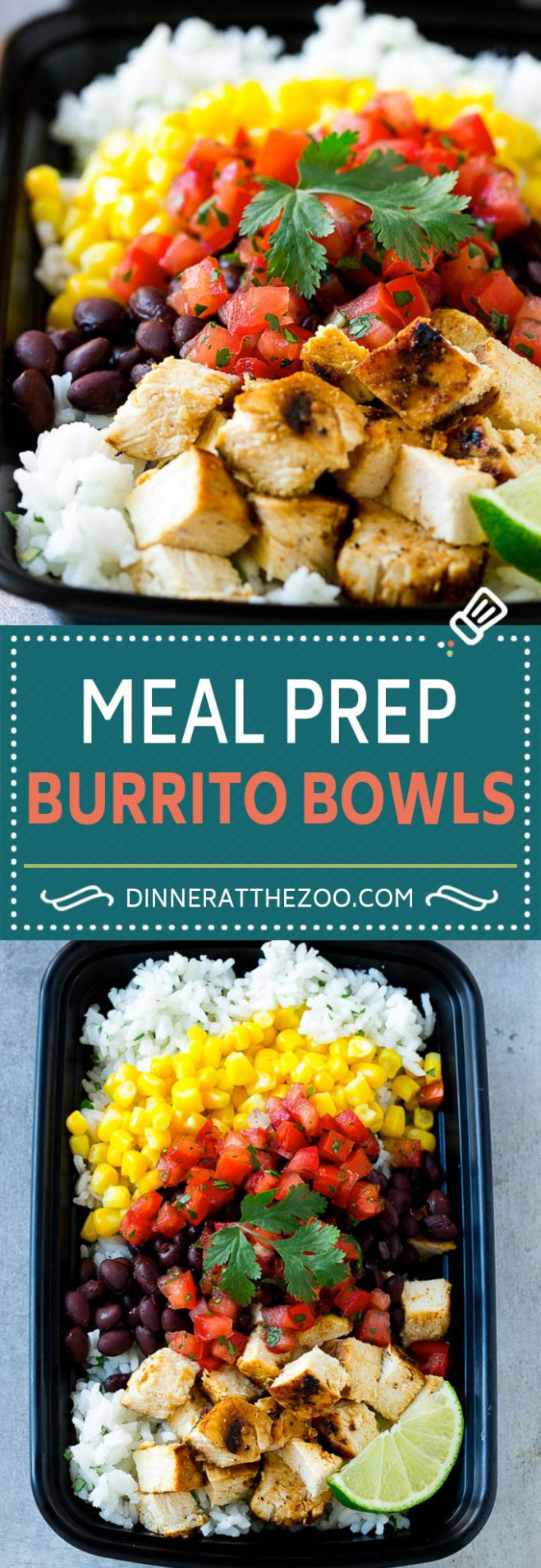 10 Easy Meal Prep Recipes - Dinner At The Zoo - Healthy Meal Recipes