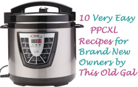 10 Easy Power Pressure Cooker XL Recipes For New Owners ..