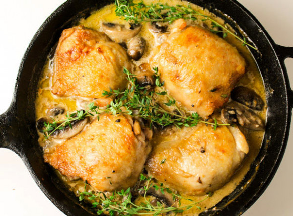 10 Easy Recipes Using A Cast Iron Skillet - Tastefulventure - chicken recipes cast iron