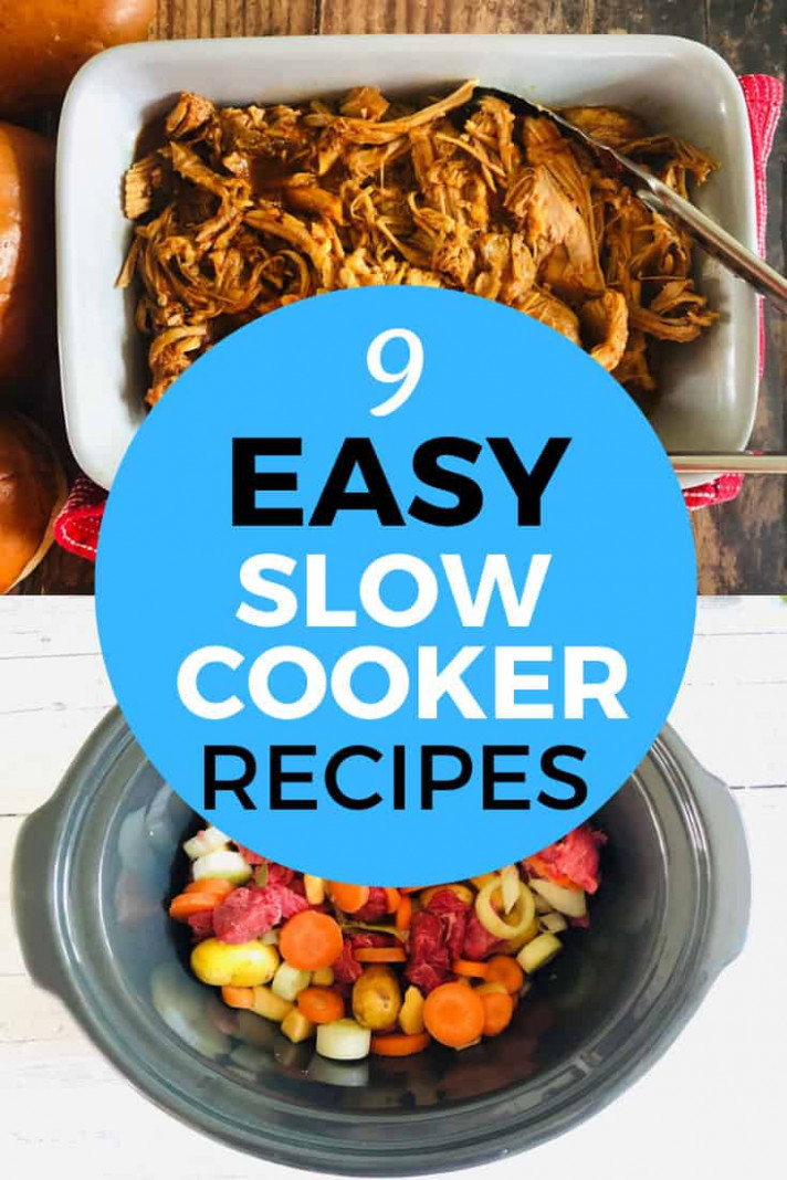 10 Easy Slow Cooker Recipes You Should Try - Liana's Kitchen - Dinner Recipes You Must Try