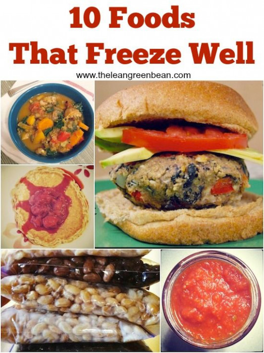 10 Foods that Freeze Well + Recipes to Get Started ..