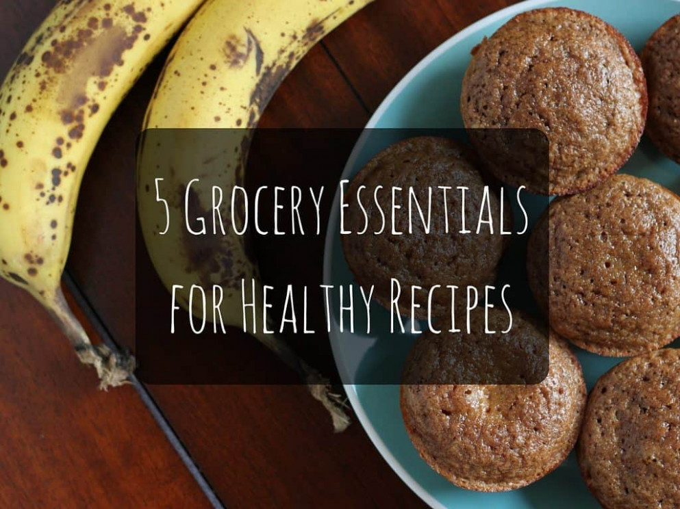 10 Grocery Essentials For Healthy Recipes - I Heart Vegetables - Healthy Recipes Runners