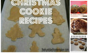 10 Healthy Christmas Cookie Recipes | The Humbled Homemaker – Healthy Xmas Cookies Recipes