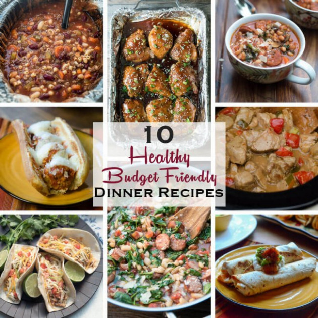 10 Healthy Dinner Recipes On A Budget - Valerie's Kitchen - Healthy Recipes On A Budget