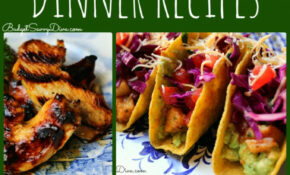 10 Healthy Dinner Recipes Roundup | Budget Savvy Diva – Recipes List For Dinner