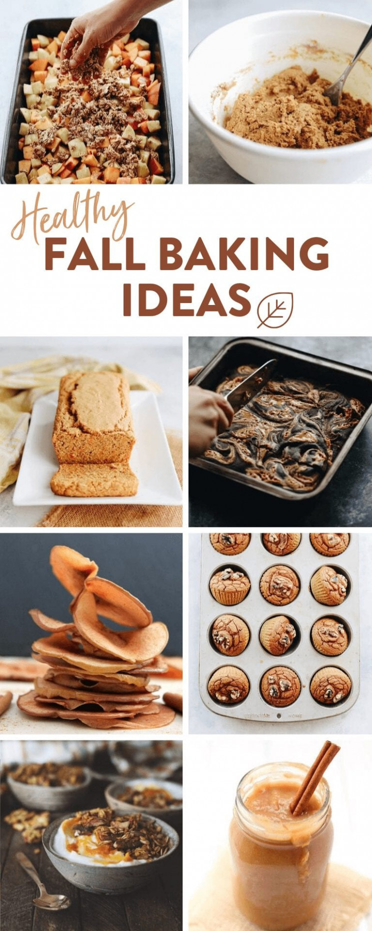10 Healthy Fall Baking Recipe Ideas + Desserts - The Healthy ..