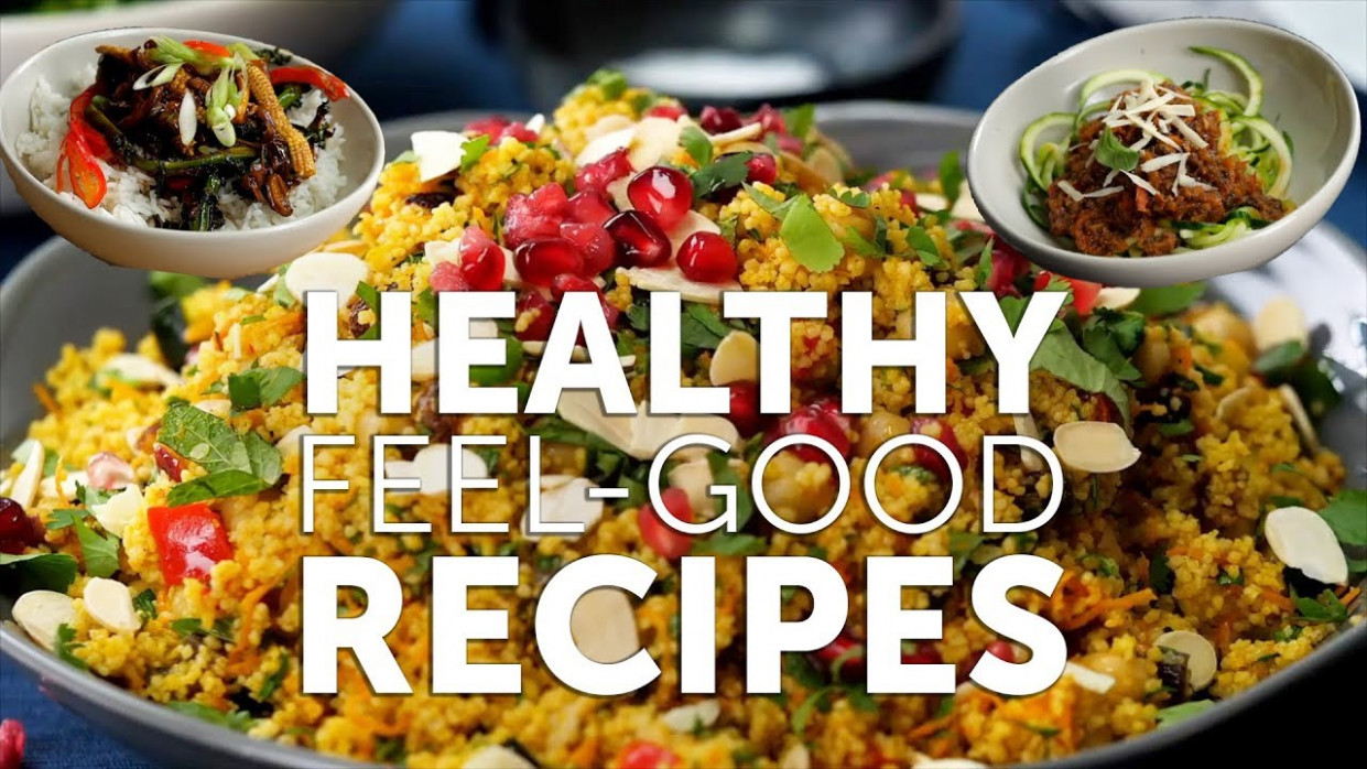 10 HEALTHY RECIPES FOR 10 ? - healthy vegetarian recipes youtube