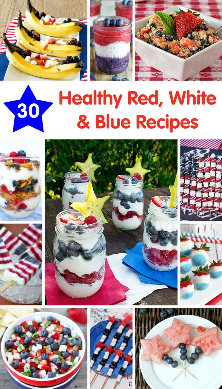 10 Healthy Red, White & Blue Recipes | Produce for Kids - healthy 4th of july recipes