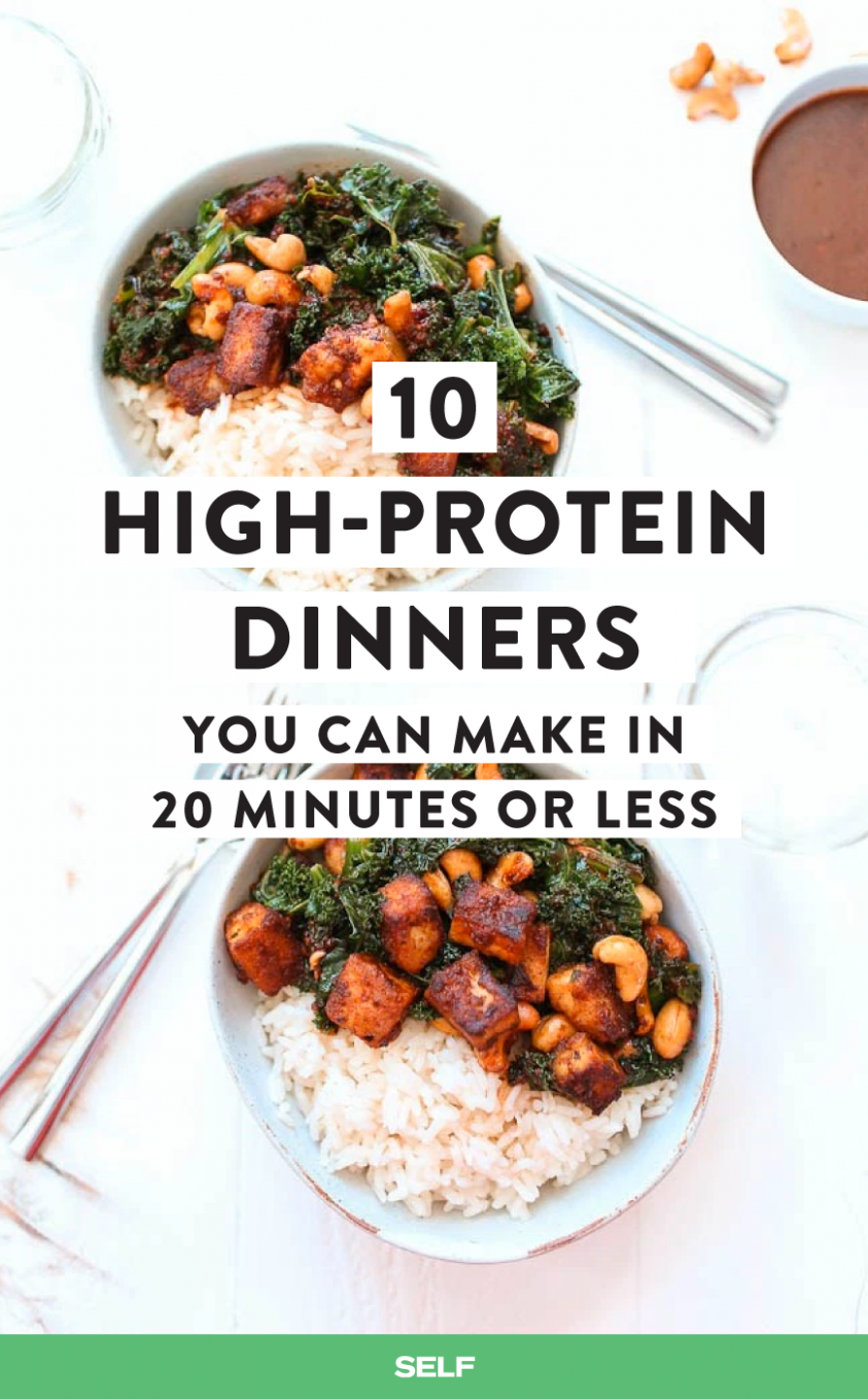 10 High-Protein Dinners You Can Make In 20 Minutes Or Less ..