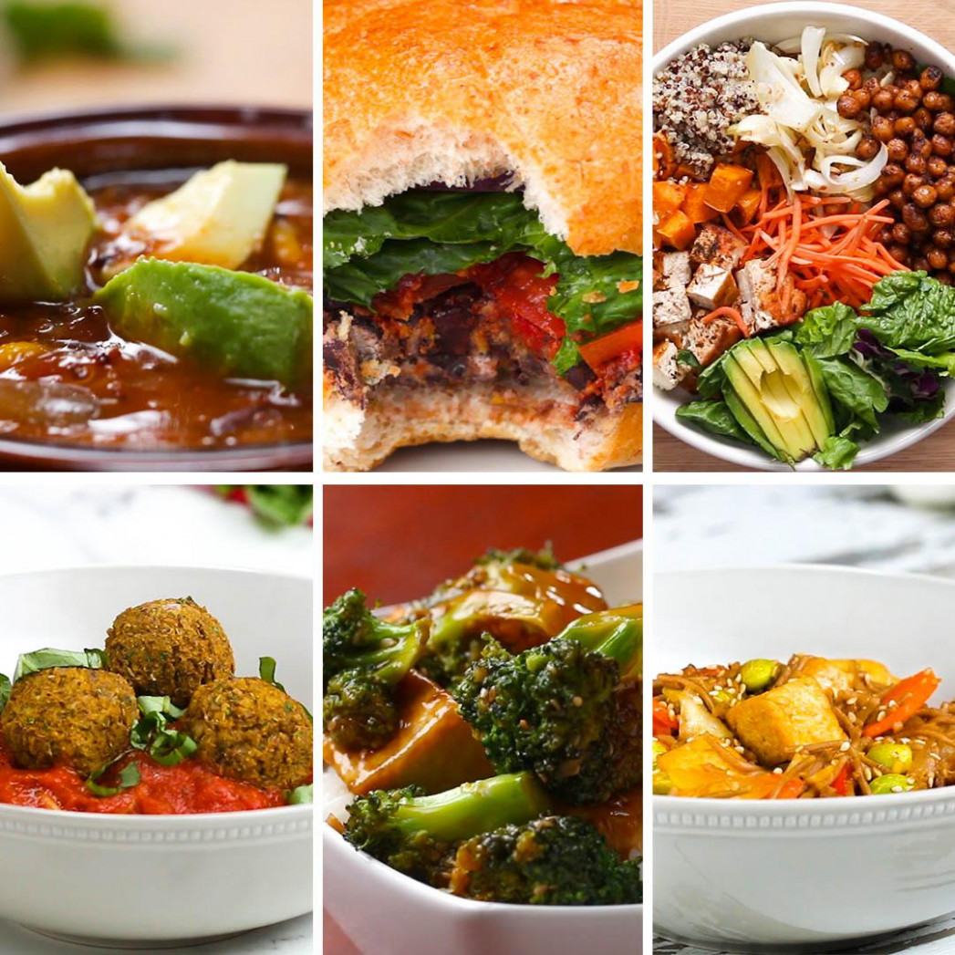 10 High Protein Vegetarian Dinners | Recipes - Dinner Recipes No Meat