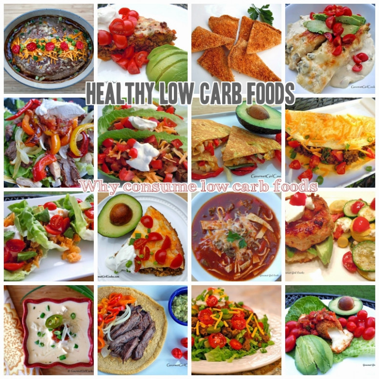 10 Low Carb Foods: Low Fat Sugar + High Protein Fiber ..