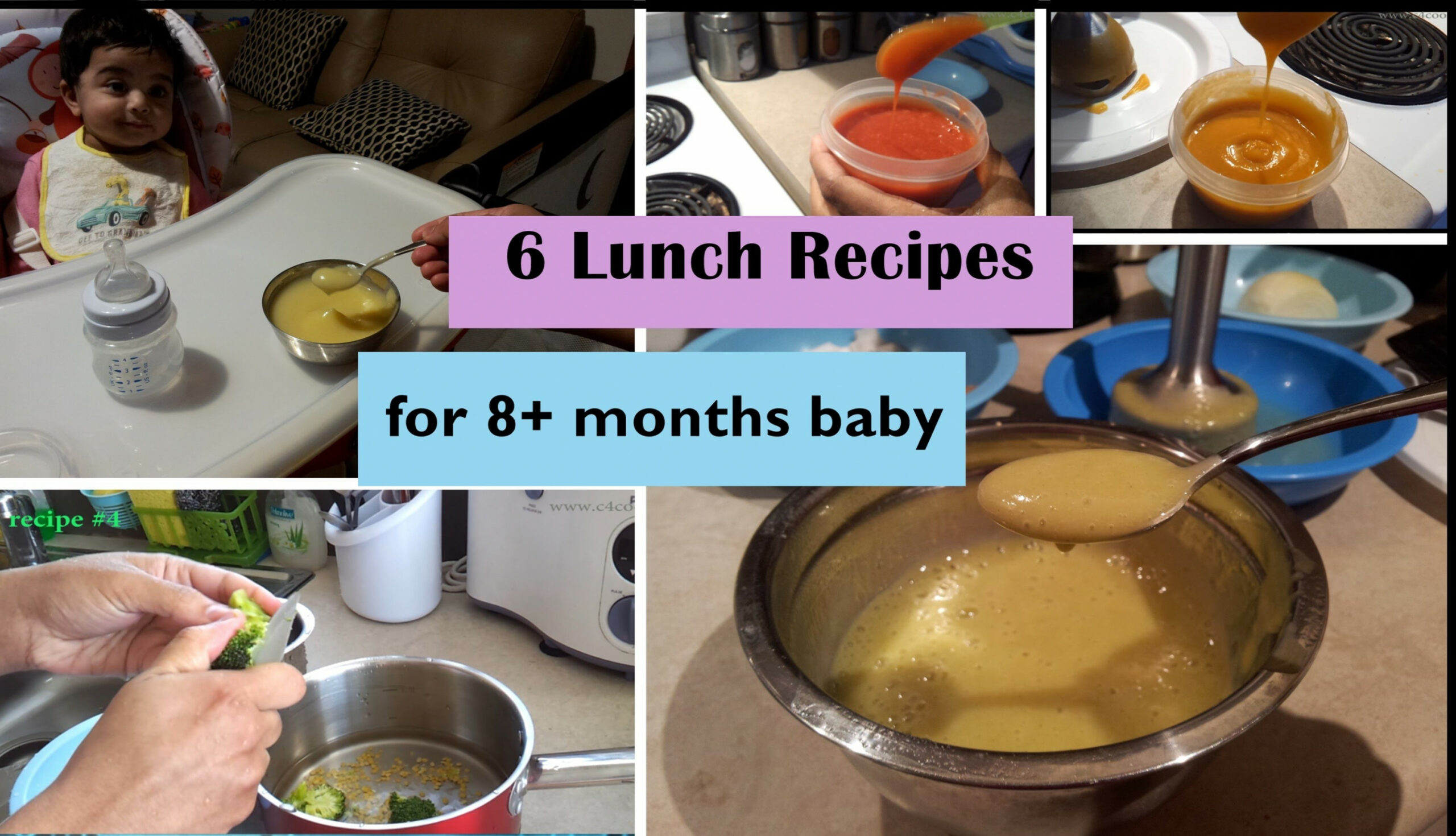 10 Lunch Recipes For 10+ Months Baby (Stage 10 – Homemade Baby ..