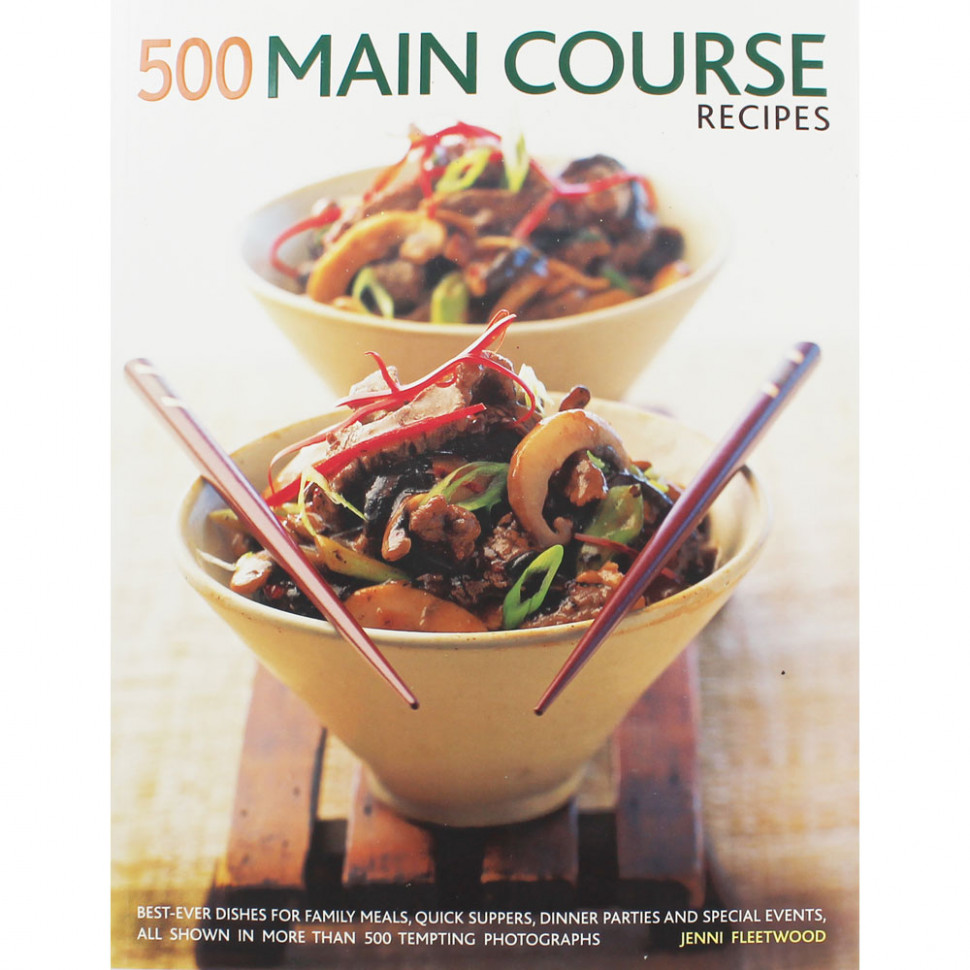 10 Main Course Recipes by Jenni Fleetwood | Cookery Books at The Works - recipes main course dinner party