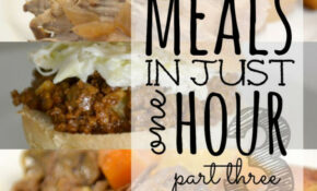 10 Meals In An Hour™ Part 3 | Freezer Cooking | Freezer ..
