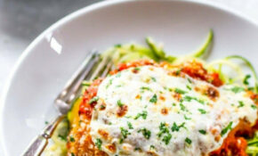 10 Minute Healthy Chicken Parmesan – Healthy Recipes Zucchini Noodles