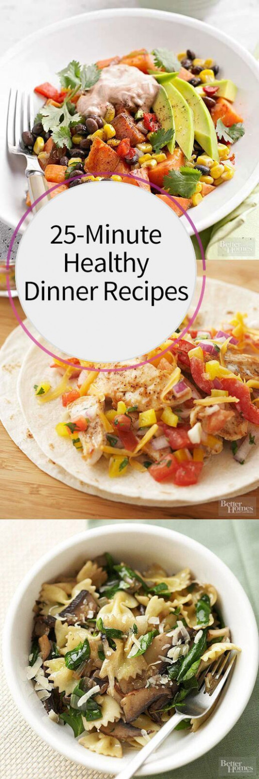 10-Minute Healthy Dinner Recipes | Healthy pasta recipes ..