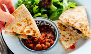 10 Minute Quesadillas Recipe – Cookie And Kate – Vegetarian Food Recipes