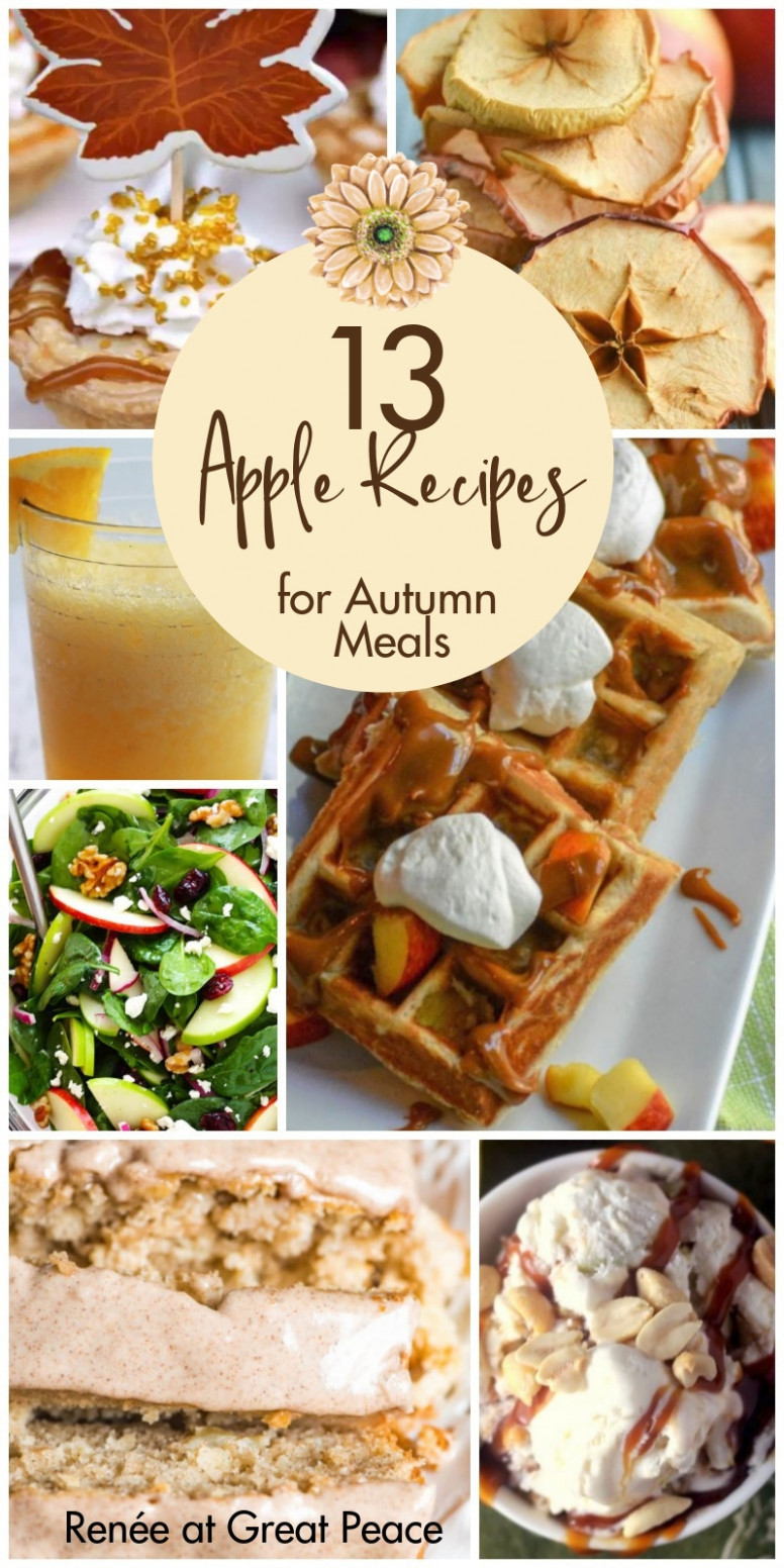 10 Must Try Apple Recipes for Autumn Meals - Renée at Great ..