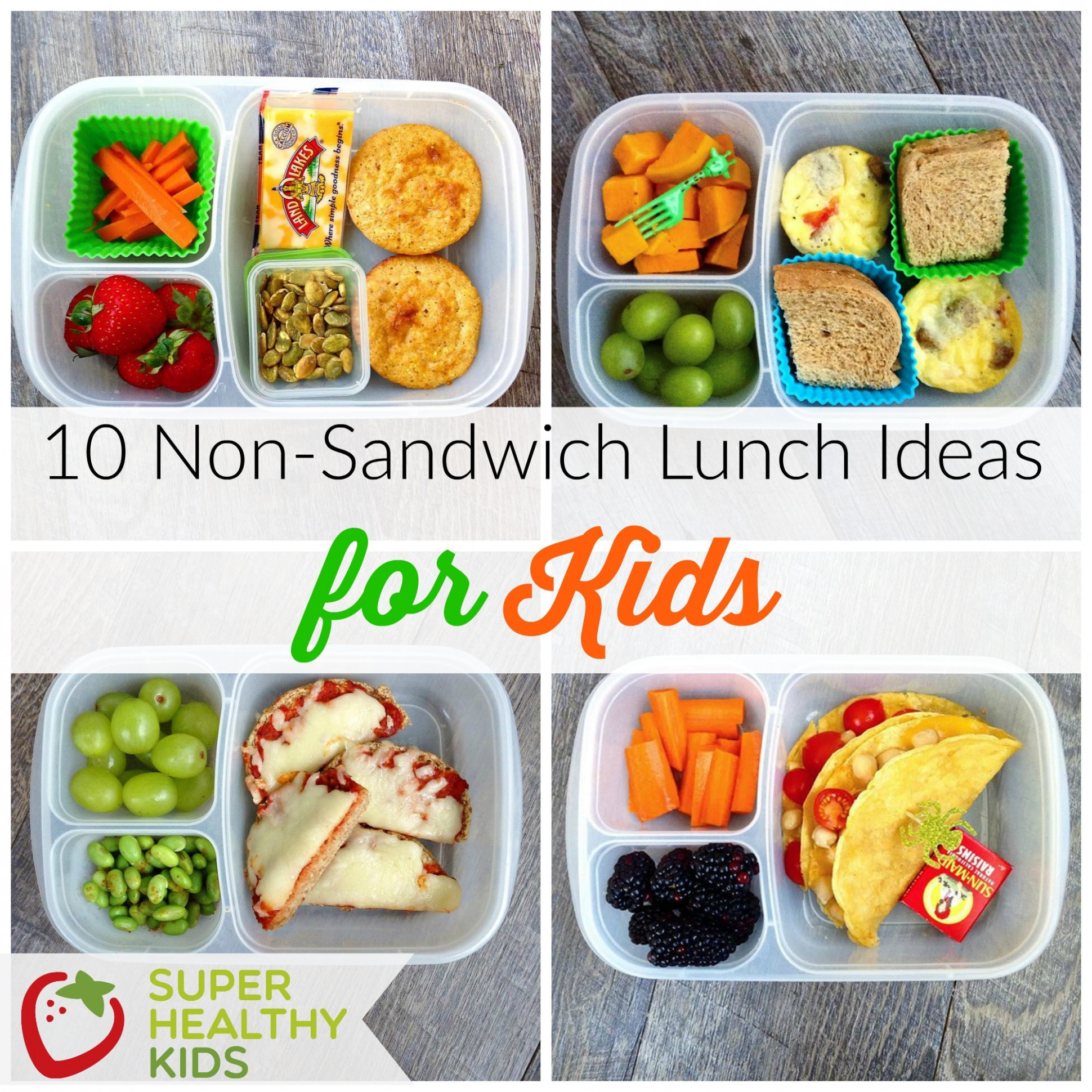 10 Non-Sandwich Lunch Ideas for Kids | Healthy Ideas for Kids - recipes for lunch healthy