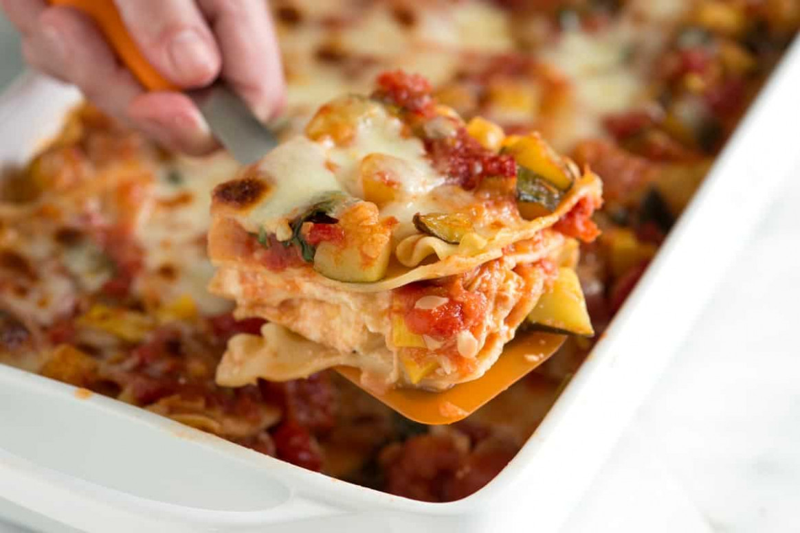 10 Quick And Easy Meatless Recipes For Lent - The Budget Diet - Recipes For Vegetarian Lasagna