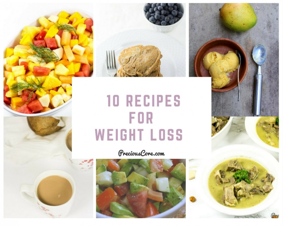 10 RECIPES FOR WEIGHT LOSS | Precious Core - recipes healthy food