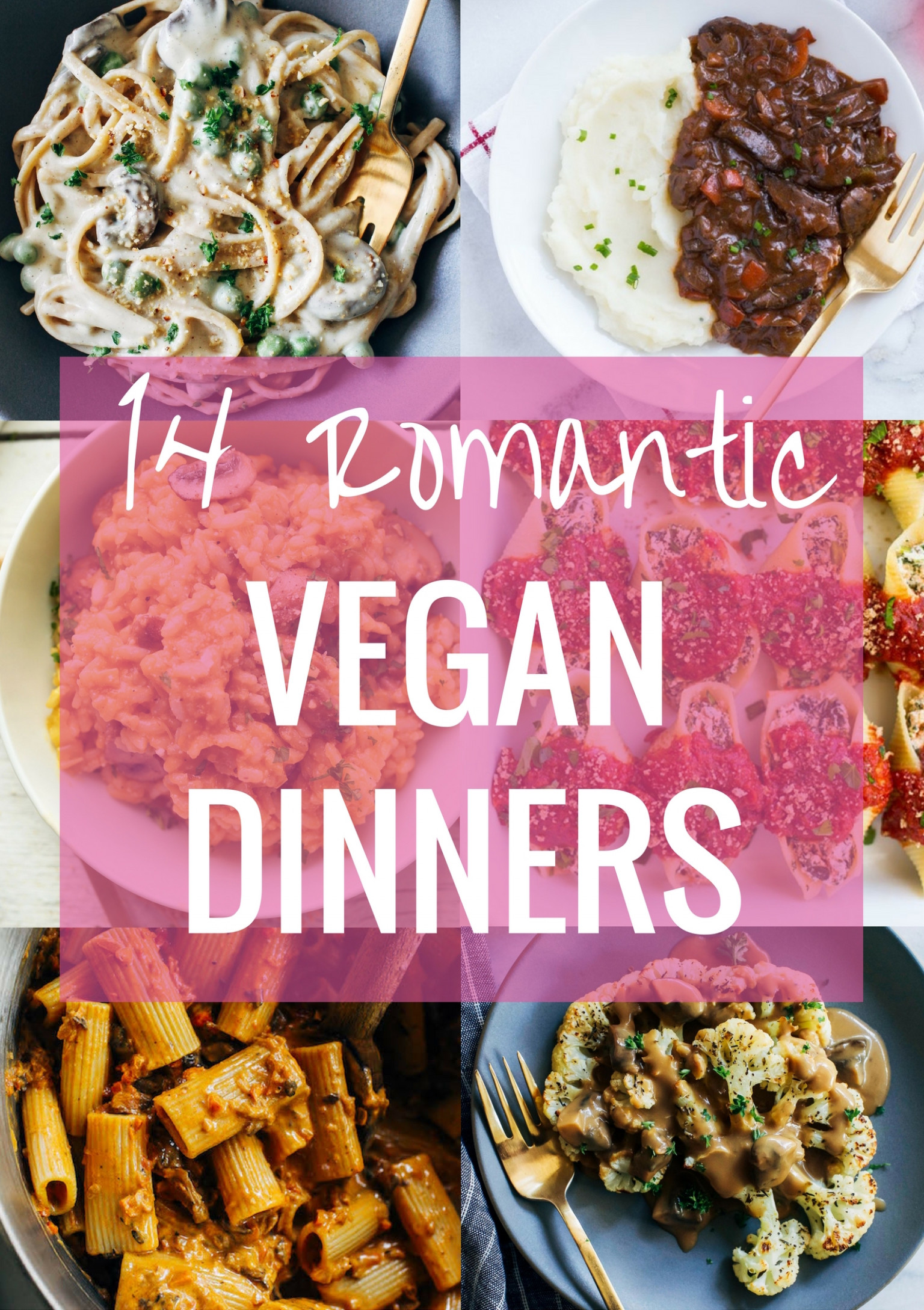 10 Romantic Vegan Dinner Ideas - Making Thyme for Health - recipes something different for dinner