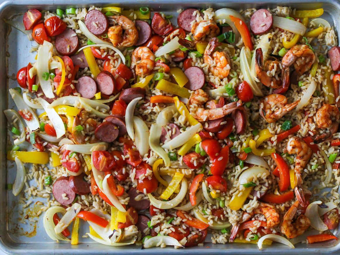 10 Sheet Pan Dinners - Cooking Light - dinner recipes one pan